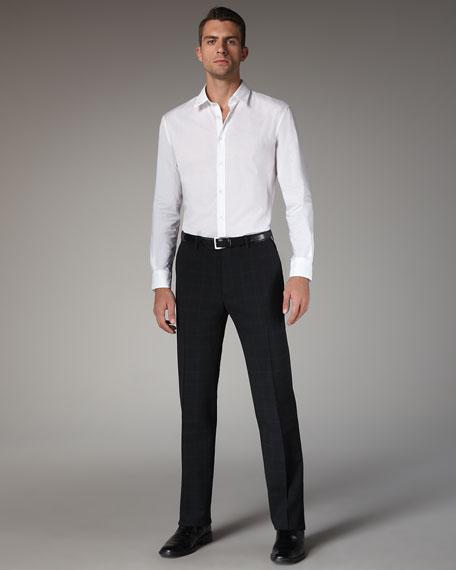 Check Slim Pants