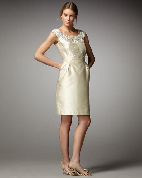 josie beaded detail dress