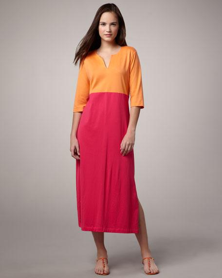 Colorblock Knit Dress