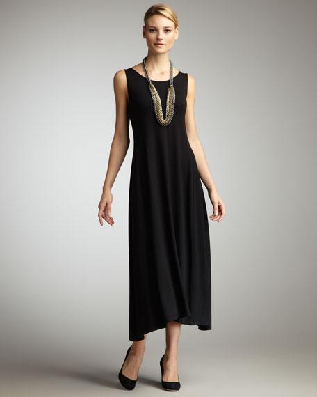 Long Jersey Dress, Women's