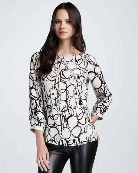 Palermo Printed Top