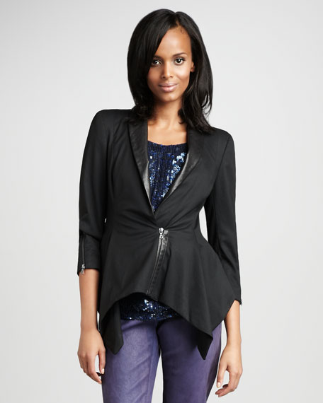 Britton Asymmetric Blazer