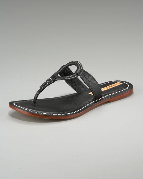 Circle Thong Sandal