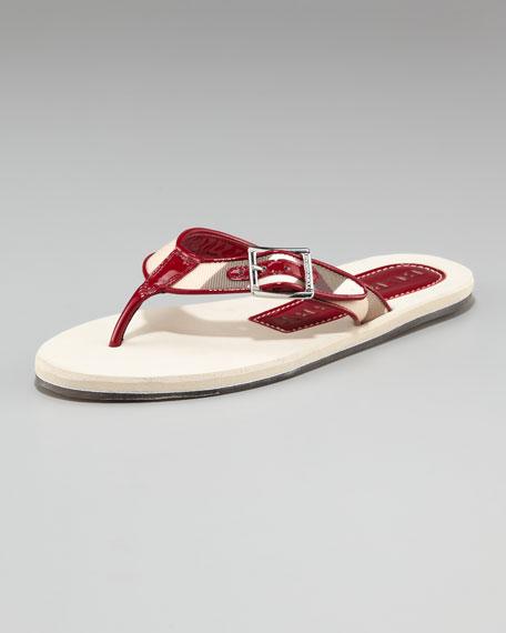 Lancaster Thong Flip Flop