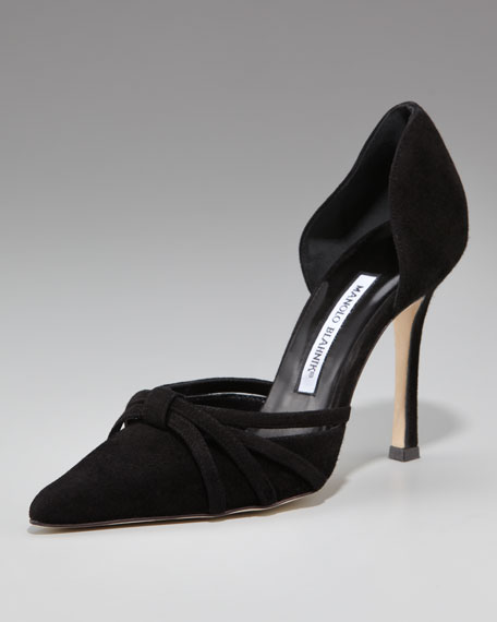 Strappy High-Heel d'Orsay