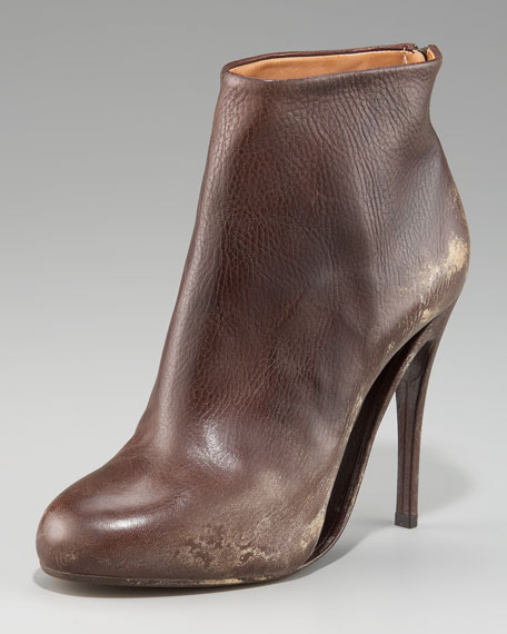 Maison Martin Margiela Distressed Ankle Boot