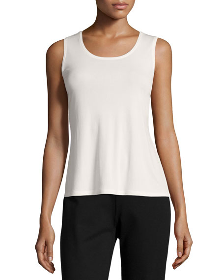 Stretch Silk Tank