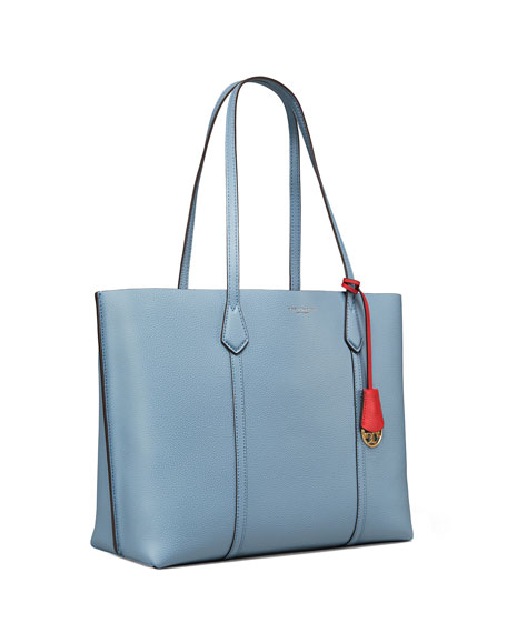 Image 4 of 6: Tory Burch Perry Leather Tote Bag