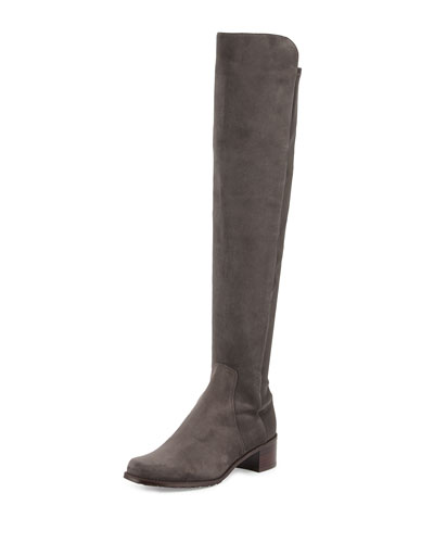 Reserve Suede Over-the-Knee Boot, Londra
