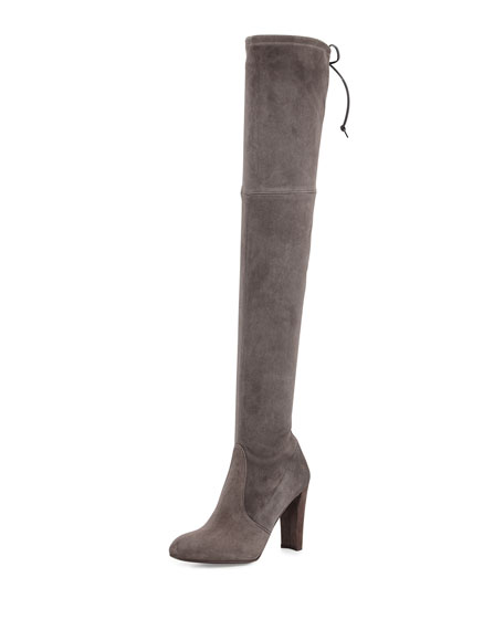 Stuart Weitzman Highland Suede Over-The-Knee Boot, Londra
