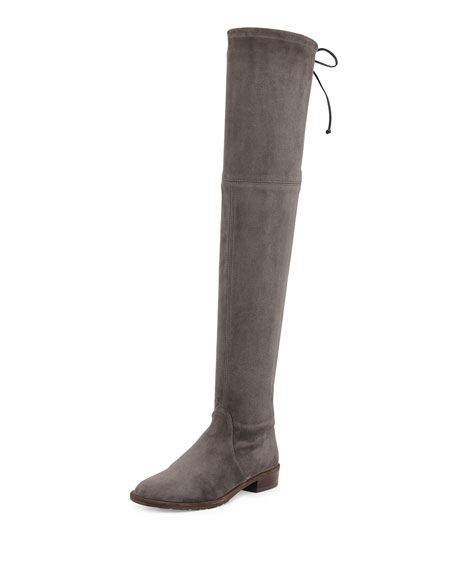 Stuart Weitzman Lowland Suede Over The Knee Boot by Stuart Weitzman