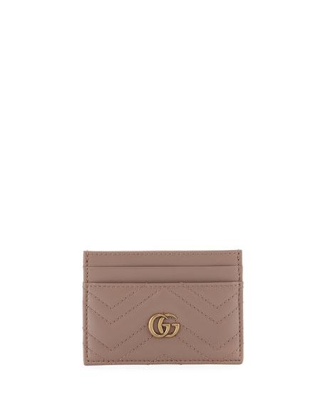 Gucci GG Marmont Matelasse Card Case