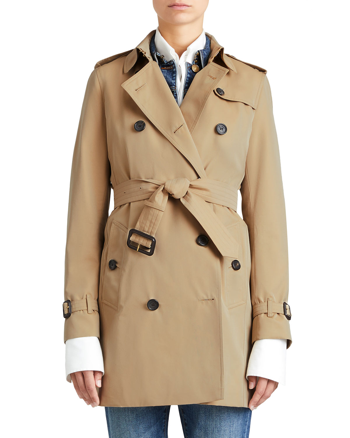 5eabf465093a Burberry The Kensington - Mid-Length Heritage Trench Coat