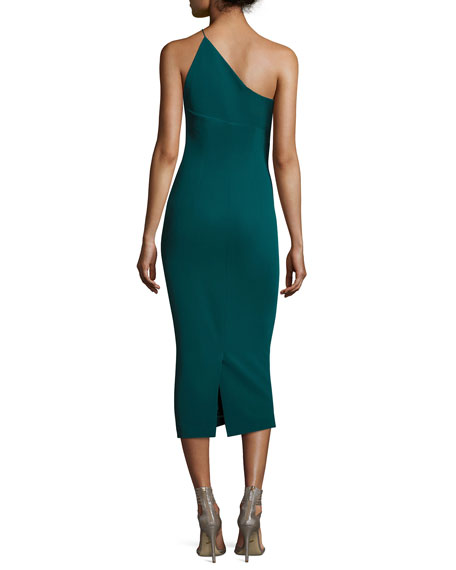 Sandra One-Shoulder Sheath Dress