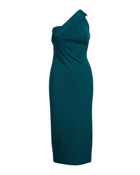 Sandra One-Shoulder Sheath Dress