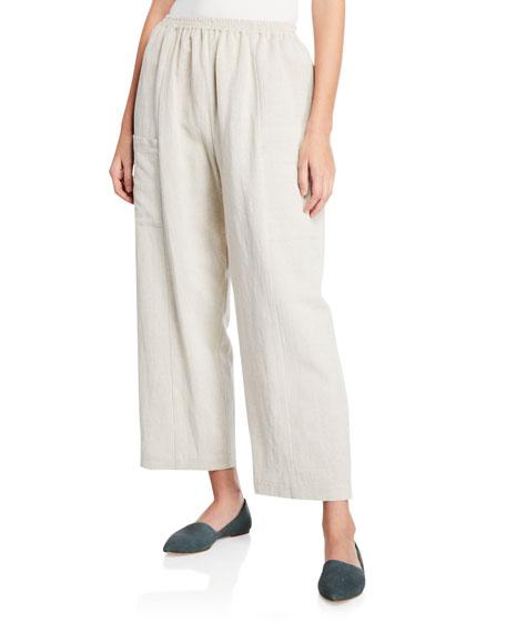 Eskandar Lightweight Linen-Cotton Trousers