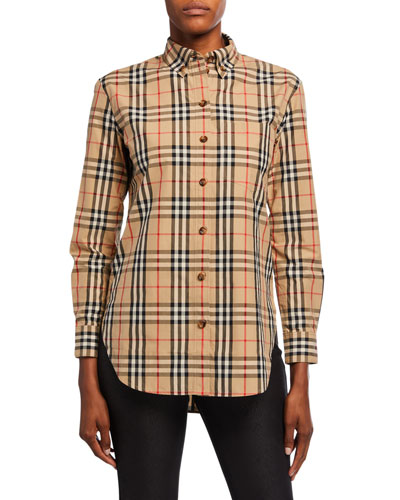 Vintage Check Classic Fit Shirt