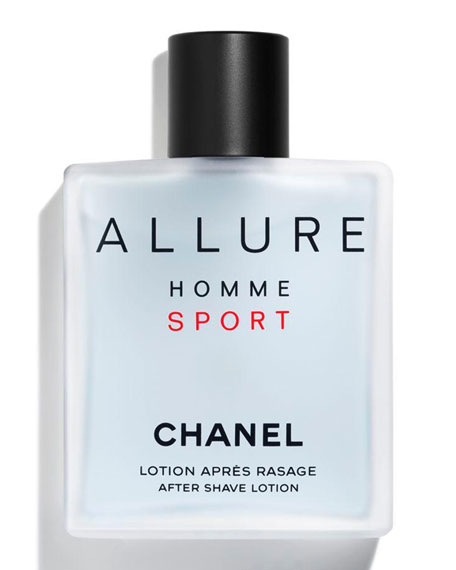 CHANEL <b>ALLURE HOMME SPORT</b><br>After Shave Lotion, 3.4 oz.