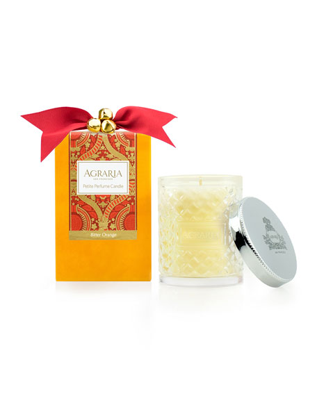 Agraria Bitter Orange Crystal Cane Candle, 3.4 oz.