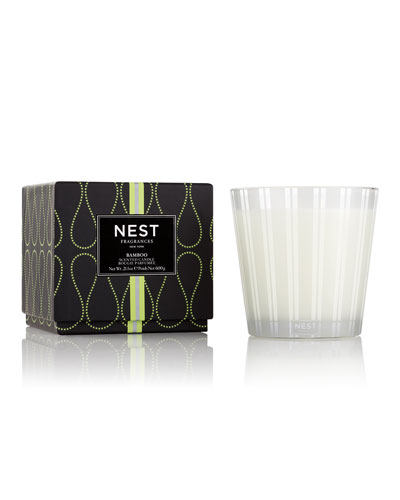 Bamboo 3-Wick Candle  21.2 oz./ 600 g