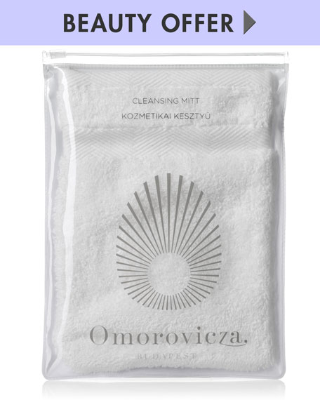 Yours with ANY Omorovicza cleanser purchase