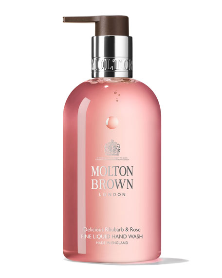 Image 1 of 4: Molton Brown 10 oz. Delicious Rhubarb & Rose Hand Wash