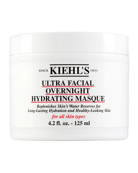 Kiehl's Since 1851 - Ultra Facial Overnight Hydrating Masque - For All Skin Types 125ml/4.2oz In Size 3.4-5.0 Oz.
