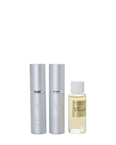 Fleur09 Travel Spray With Refill, .25 oz./ 7.4 mL