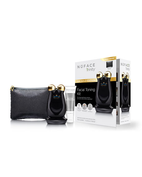 NuFace Chic Black Trinity Facial Trainer