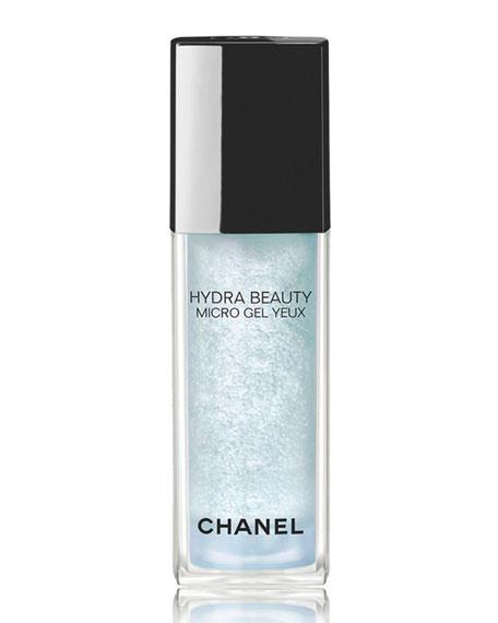 CHANEL <b>HYDRA BEAUTY MICRO GEL YEUX</b><br> Intense Smoothing Hydration Eye Gel, 0.5 oz. / 15 ml