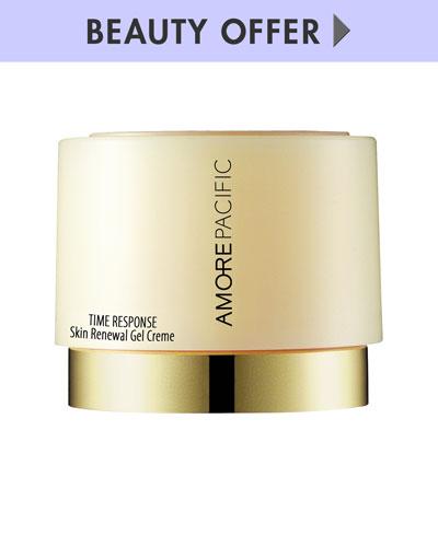 Deluxe-size Time Response Skin Renewal Gel Creme, 8 mL