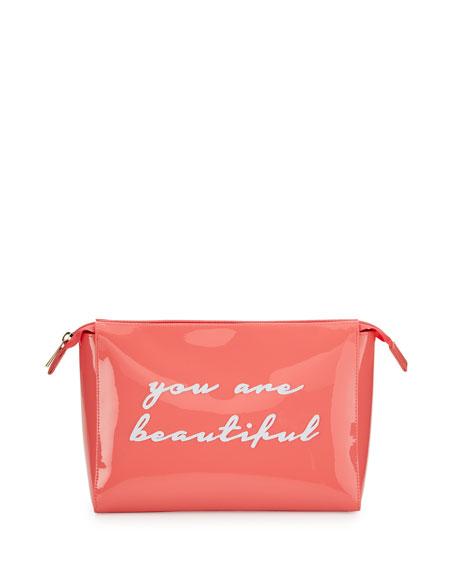 Betty Small Cosmetics Bag, Watermelon