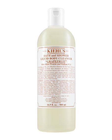 Kiehl's Since 1851 Grapefruit Bath & Shower Liquid Body Cleanser, 16.9 oz.