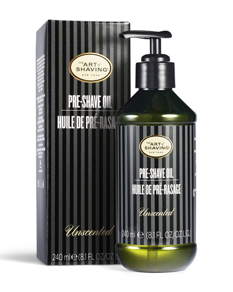 The Art of Shaving Large Pre-Shave Oil, Unscented, 8 oz.