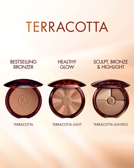 Terracotta Sun Trio Powder
