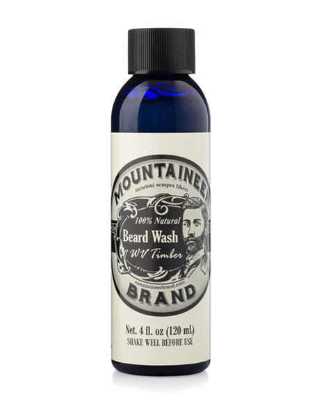 Beard Wash - WV Timber, 4 oz. / 120 ml