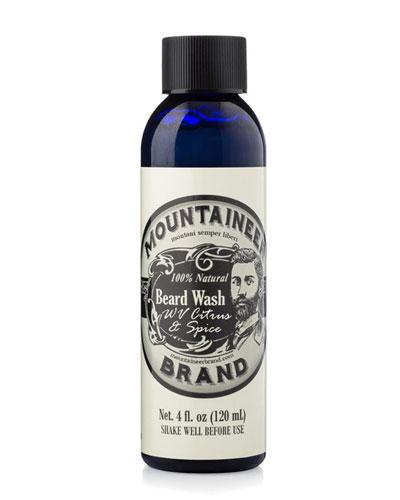 Beard Wash - Citrus & Spice, 4 oz. / 120 ml