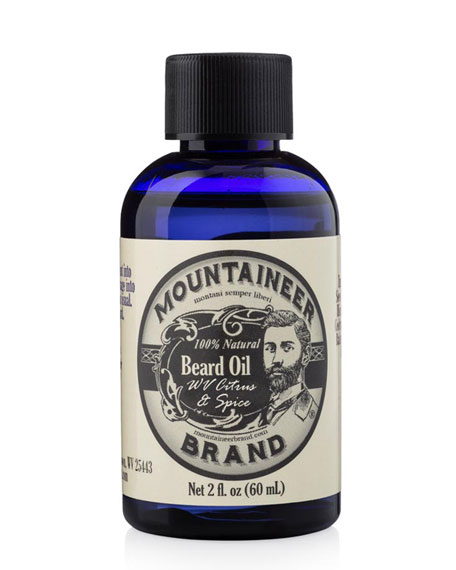 Beard Oil - Citrus & Spice, 2.0 oz./ 59 mL