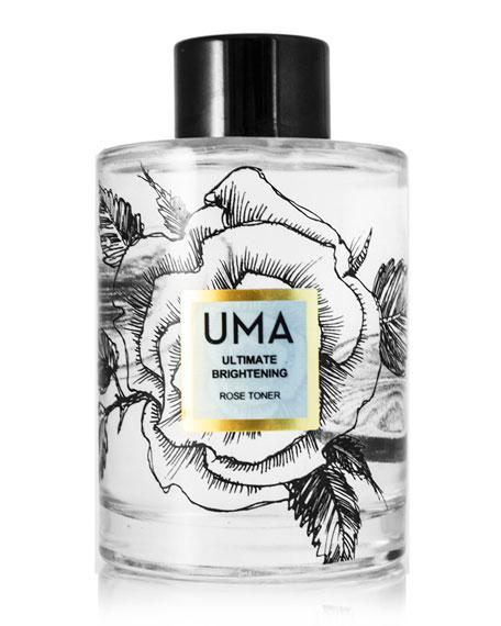 UMA Oils Ultimate Brightening Rose Toner, 4.0 oz./ 118 mL