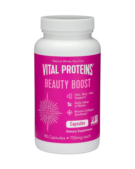 Vital Proteins Beauty Boost Capsules, 90 Capsules