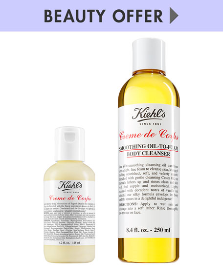Yours with any $150 Kiehl's Purchase
