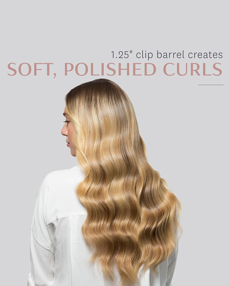 "T3 Polished Curls 1.25"" Interchangeable Clip Curling Iron Barrel"