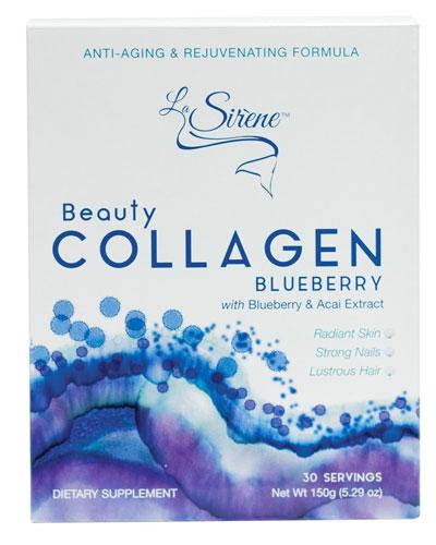 Blueberry Beauty Collagen (Marine)  Powder Supplement (30 Servings)