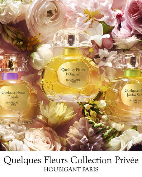 Houbigant Paris Exclusive Quelques Fleurs Jardin Secret Collection Privee, 3.3 oz./ 100 mL