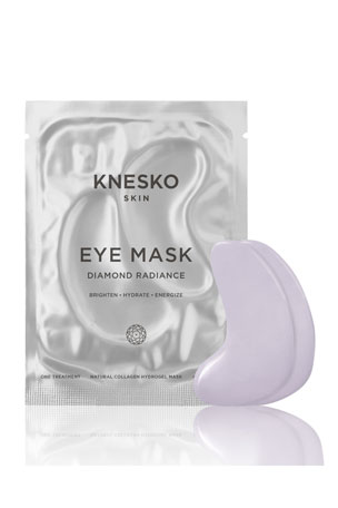 Knesko Skin Diamond Radiance Collagen Eye Masks (6 Treatments)