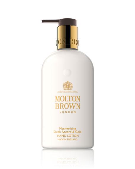 Molton Brown Mesmerizing Oudh Accord & Gold Hand Lotion, 10 oz./ 300 mL