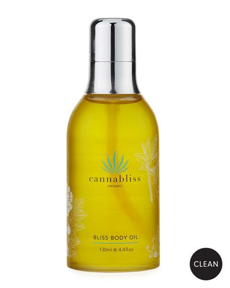 Cannabliss Organic Bliss Body Oil, 4.4 oz./ 130 mL