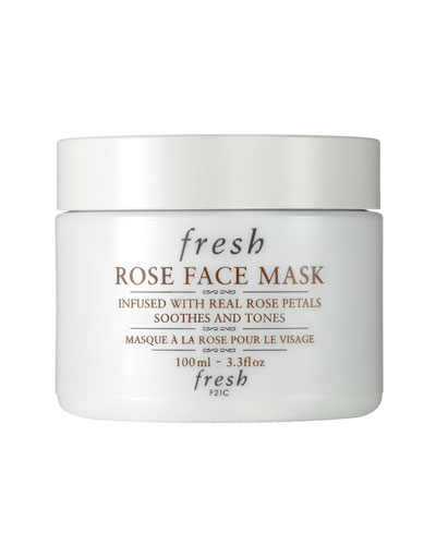 Rose Face Mask, 3.3 oz./ 100 mL