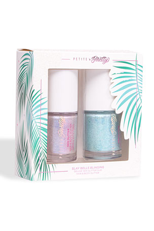 Petite 'n Pretty Kids' Slay Bells Blinging Deluxe Gen Glitter Duo