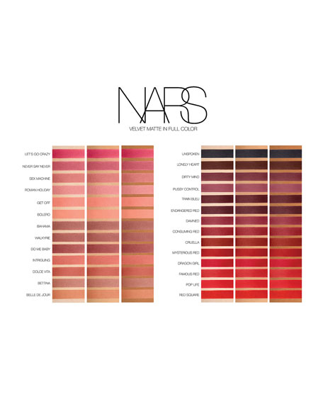 NARS Velvet Matte Lip Pencil<br>